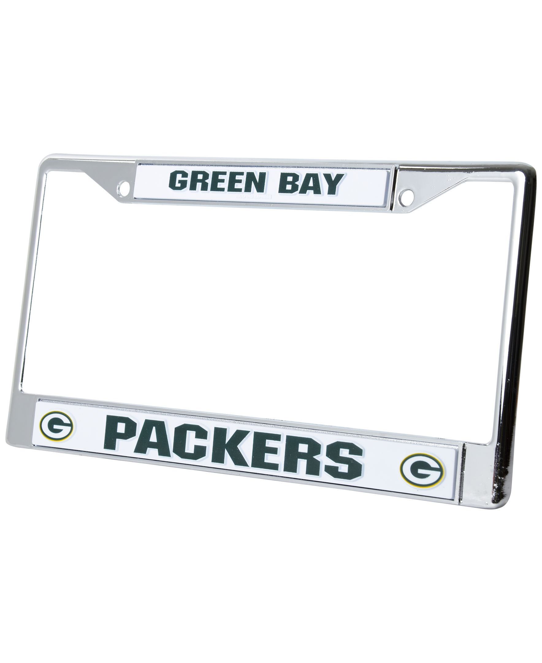 Rico Industries Green Bay Packers Chrome License Plate Frame ...