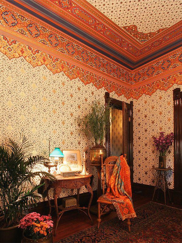 Bradbury bradbury decoraci n en 2019 victoriano for Decoracion de casas victorianas