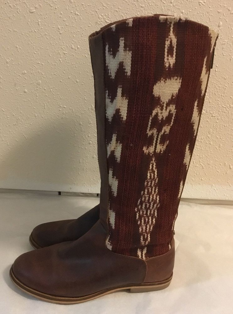 2cd3b9beb41 Reef Santa Marta Womens Brown Mult-color Leather   Textile Tall Boots Sz 7  Aztec  fashion  clothing  shoes  accessories  womensshoes  boots (ebay link)