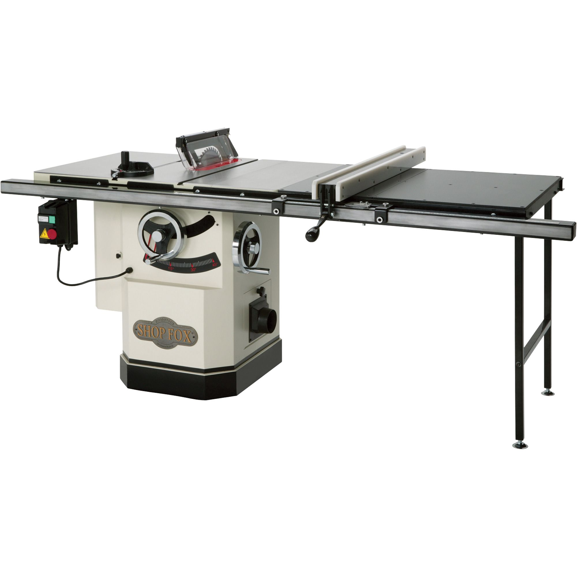 Shop Fox Table Saw with Riving Knife 10in., Model
