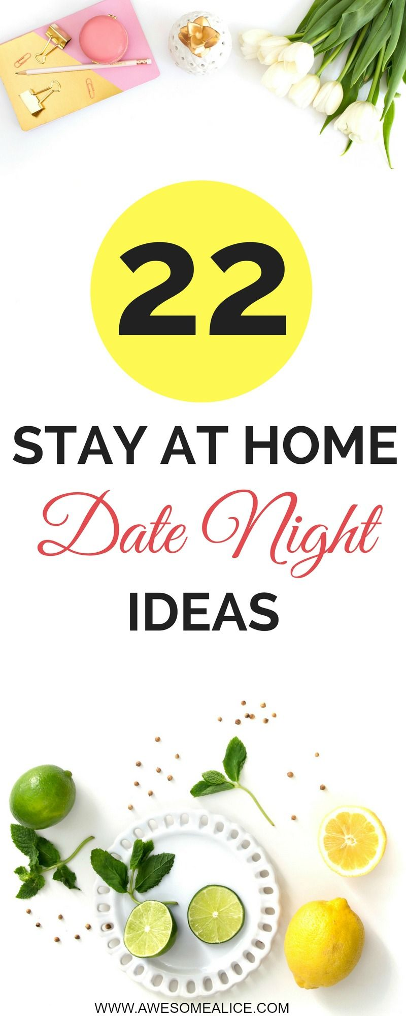 The Best 22 At Home Date Night Ideas - With Sleeping Kids - Awesome ...