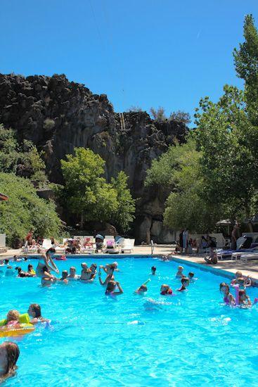 Veyo Pool Outside St George Utah