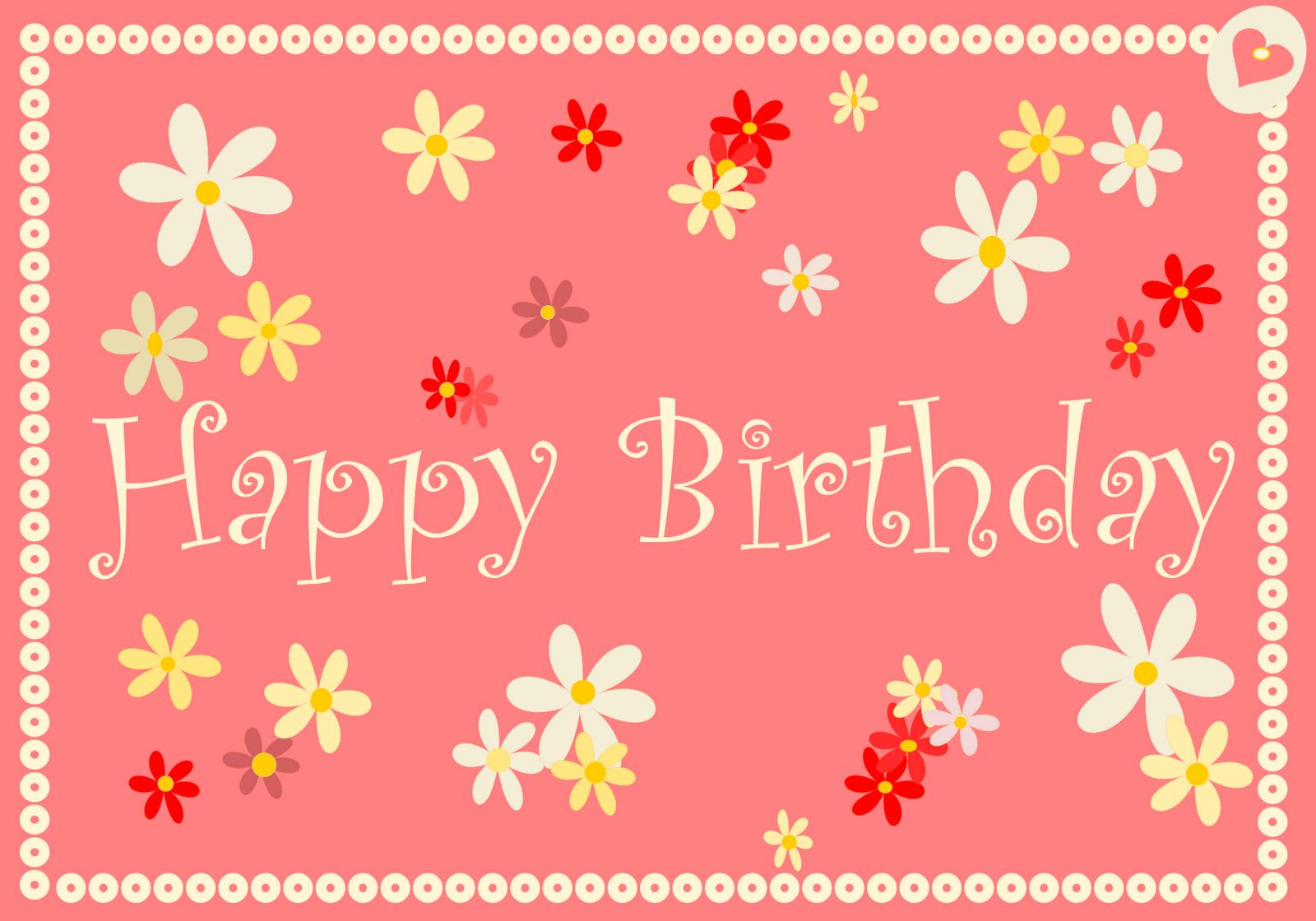 Free Printable Happy Birthday Cards Ausdruckbare Geburtstagskarten Freebies