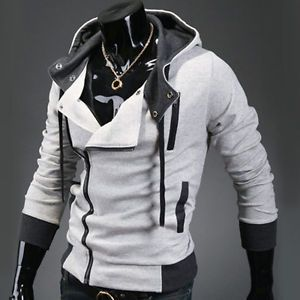 Details about Cool Men Winter Casual Hoody Sweatshirt Basic Coats ...