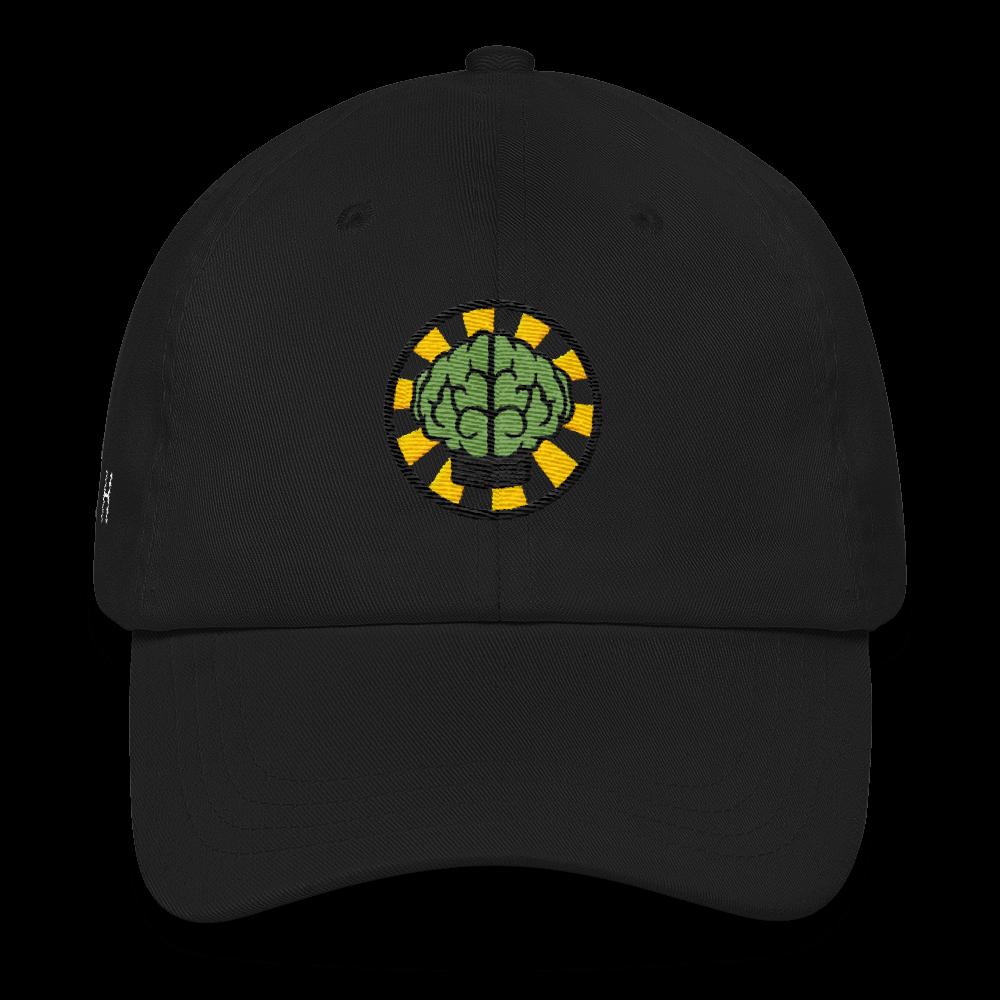NERD Brain logo embroidery Dad cap snapback. Pharrell Williams 268aba909d49