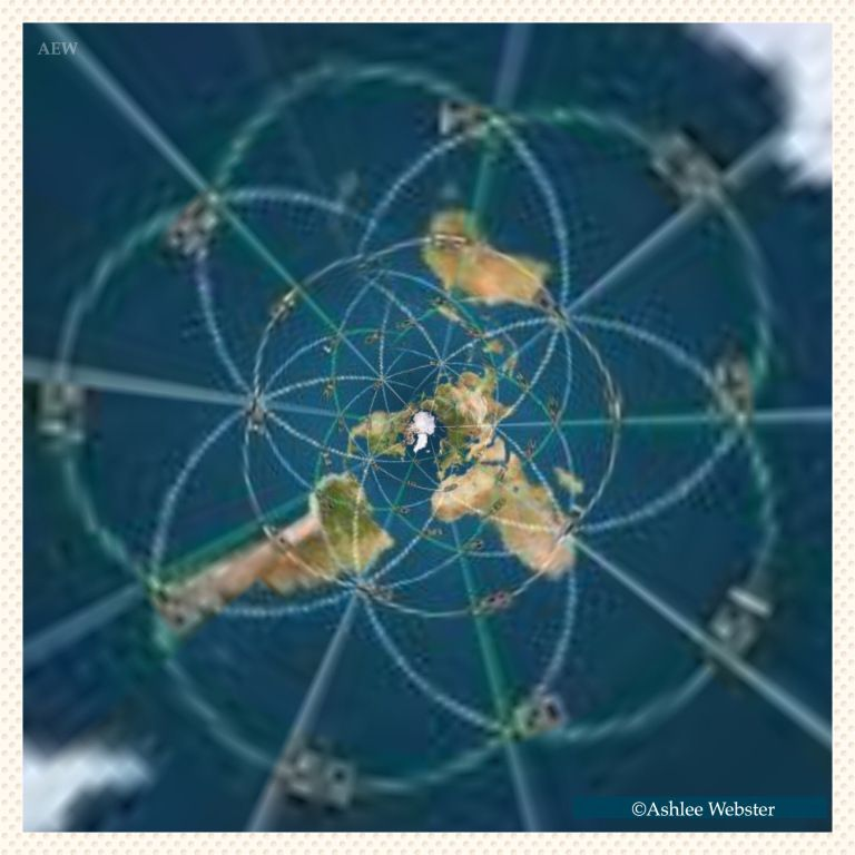 Ley lines on the flat earth | Earth | Flat earth, Ley lines, Flat