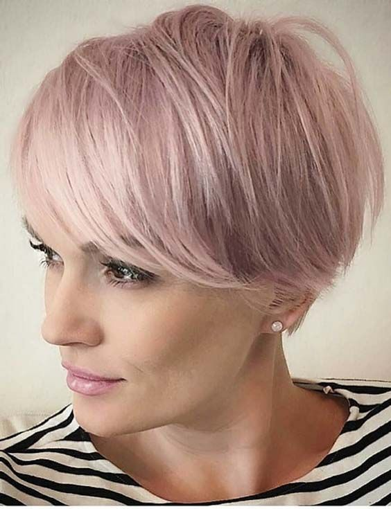 60 Sensational Side Swept Short Pixie Haircuts in 2018. Chic side ...