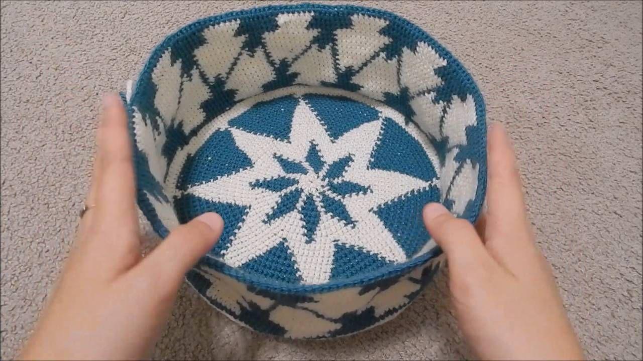 Tapestry Crochet Tutorial For Beginners : Lesson 9 of