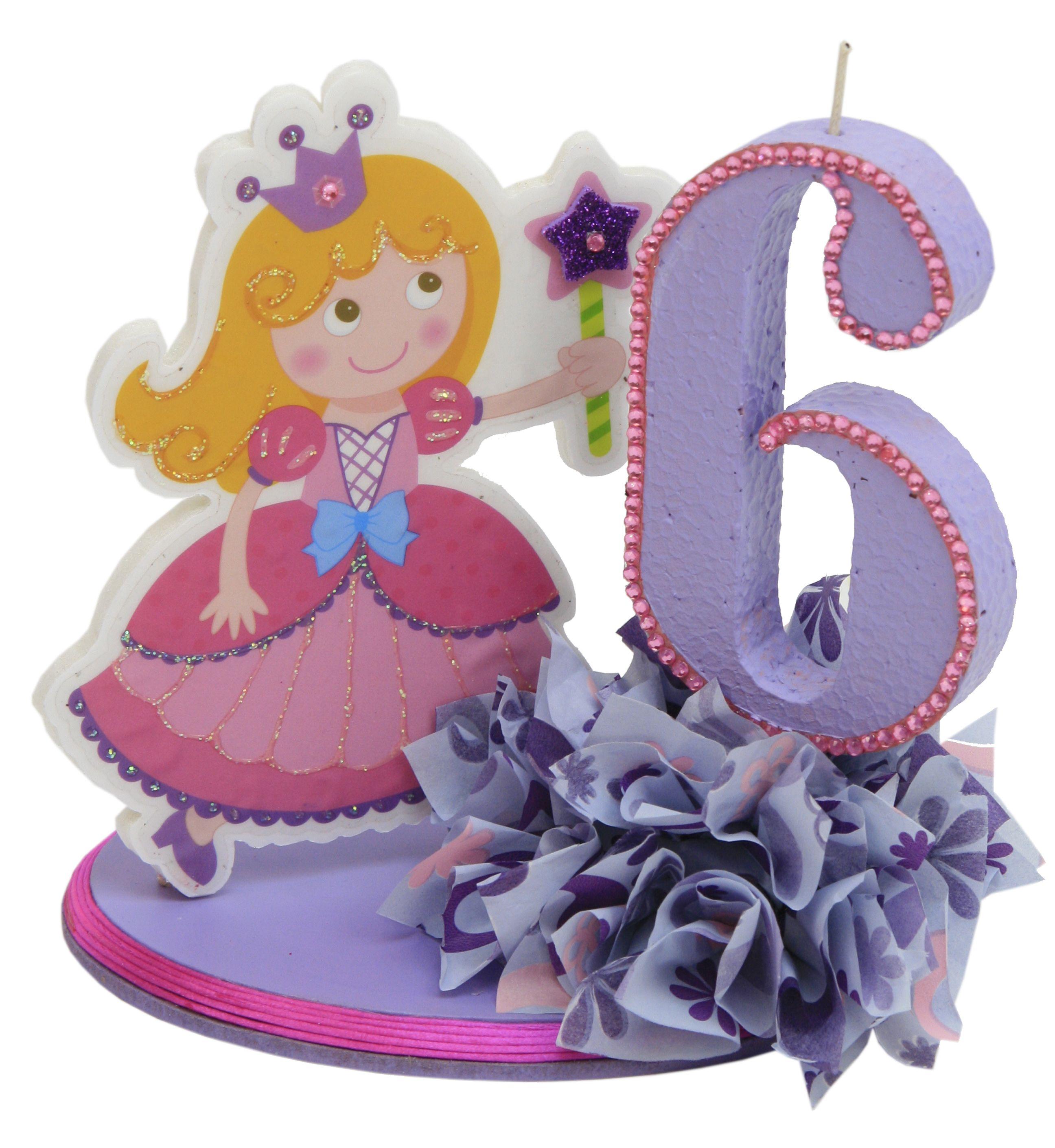 Decoraci n para pastel de fiestas infantiles princesa for Decoracion para nina