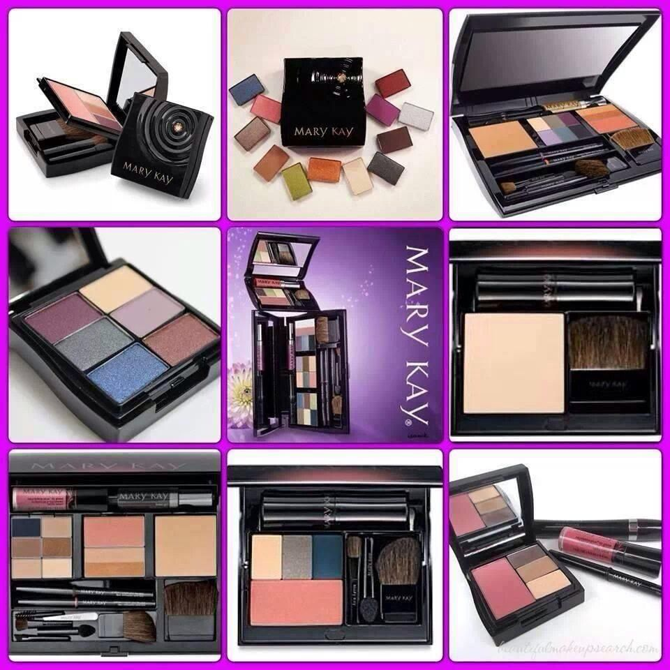 Mary Kay Compact Mini, Compact and Compact Pro filled with