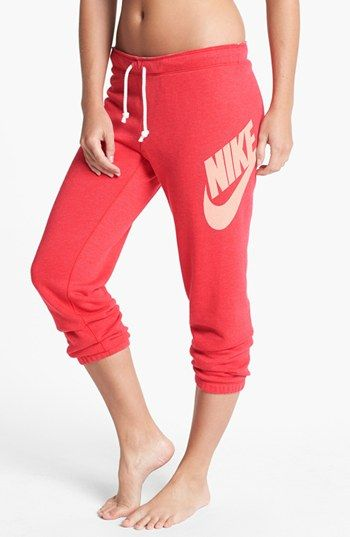 Nike 'Rally' Capri Sweatpants available at #Nordstrom | Workouts ...