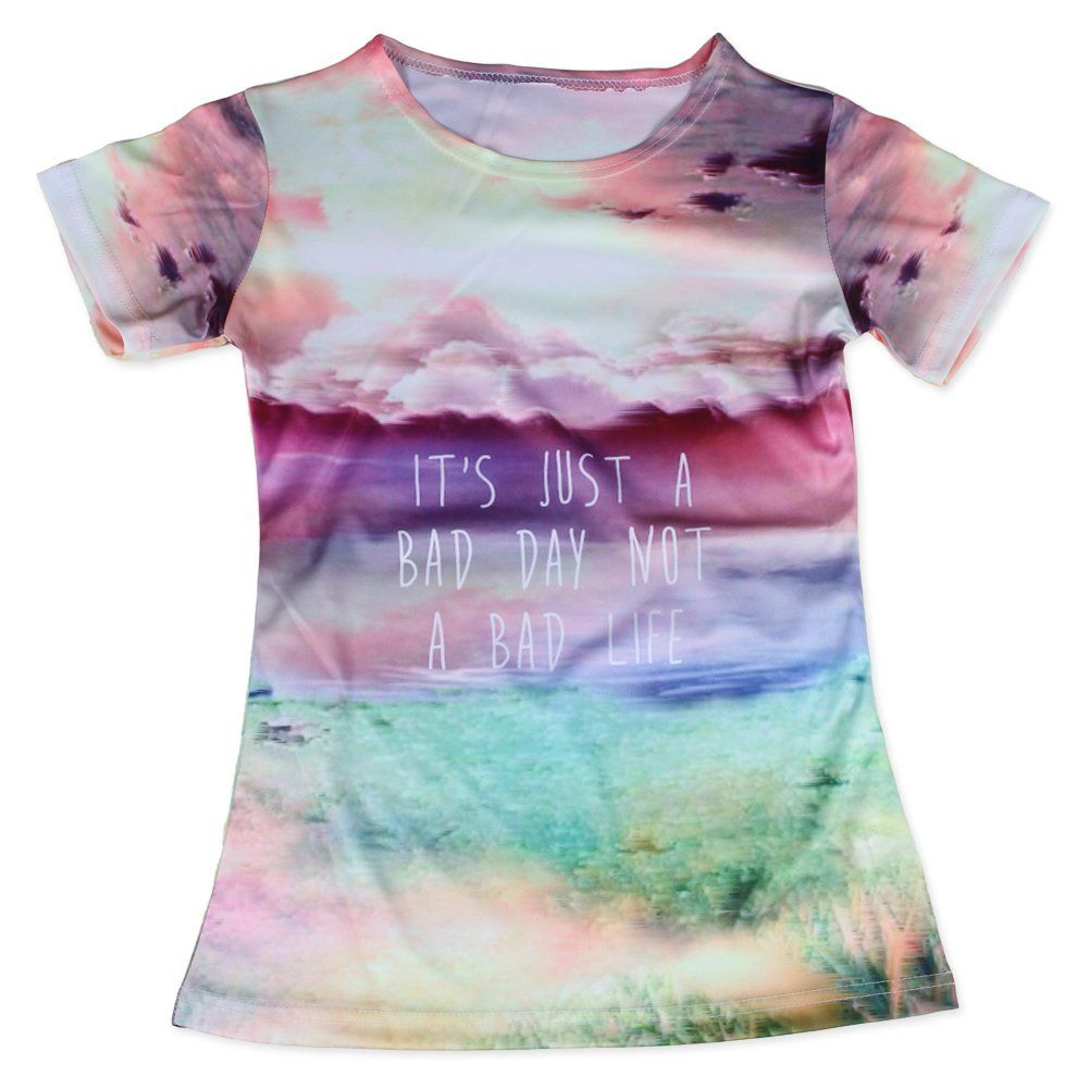 BUCHANGE Beautiful Sea of Clouds Women's Cool Tee Shirt -- Awesome products selected by Anna Churchill