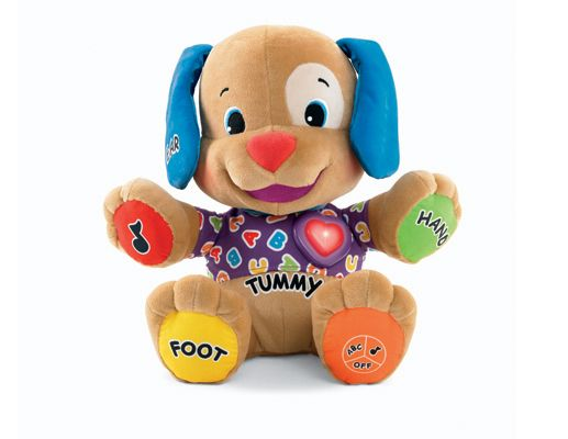 Fisher-Price Laugh and Learn Kids Puppy Educational Musical Toy ABC Motor Skills