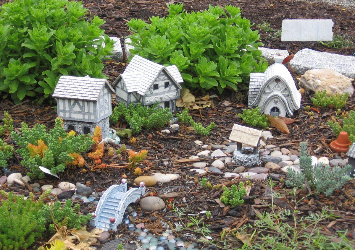 Fairy themed garden - for other children\'s garden theme ideas, see ...