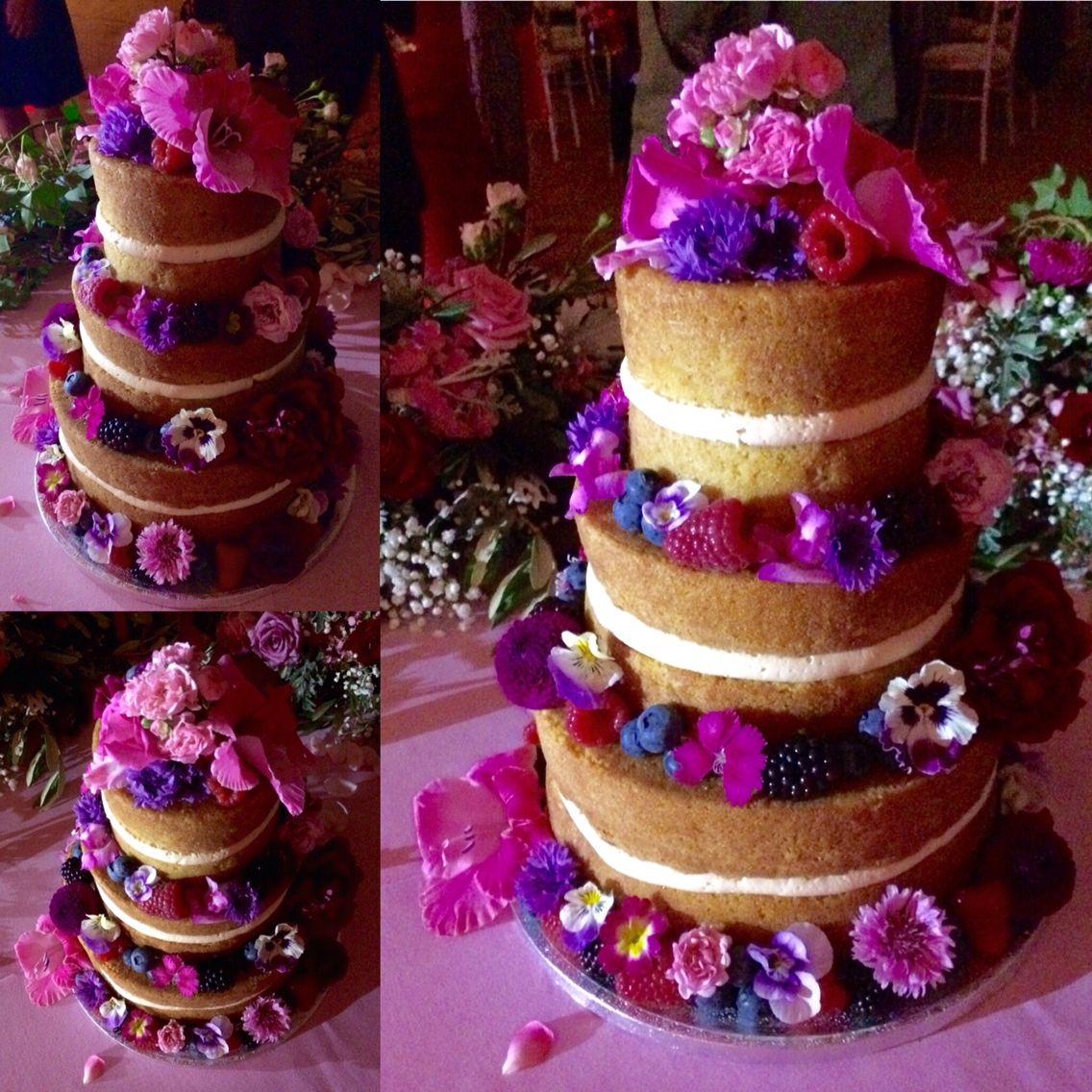 Wedding Flowers Suffolk: Pin On WEDDING NAKED CAKES