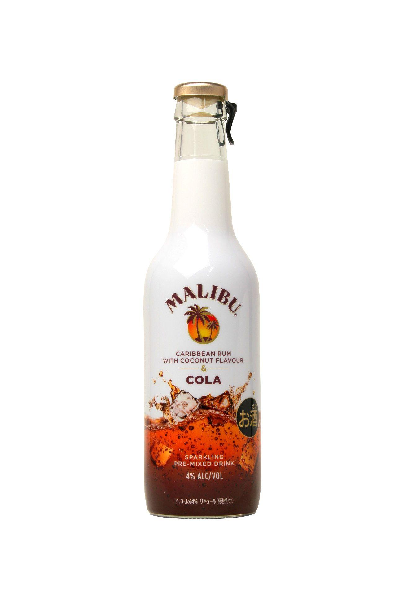 Malibu Cola 设计 饮品类 Drinks Cola Cocktails