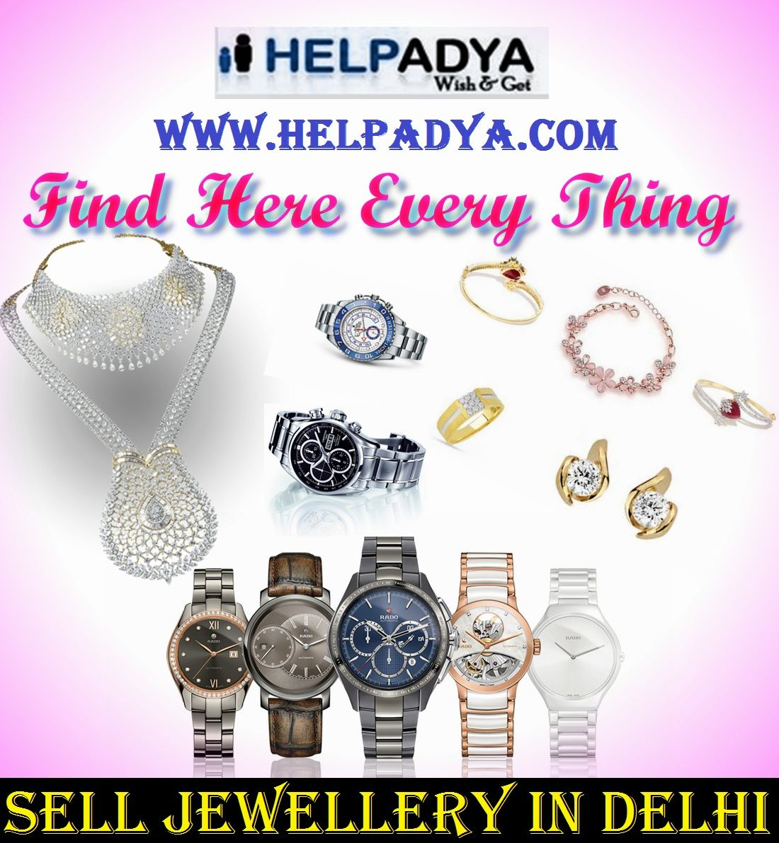 Sell Jewellery in Delhi on Help Adya Want to Sell ...