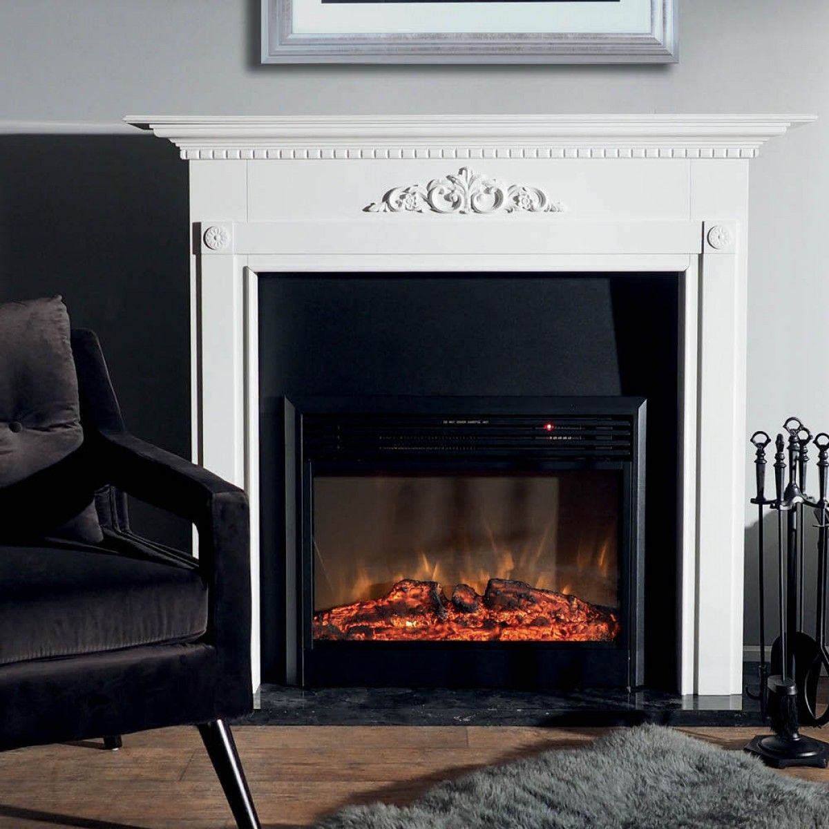 Montreux Mantel With Highton Fireplace Package Packages Fire Ideas For The House