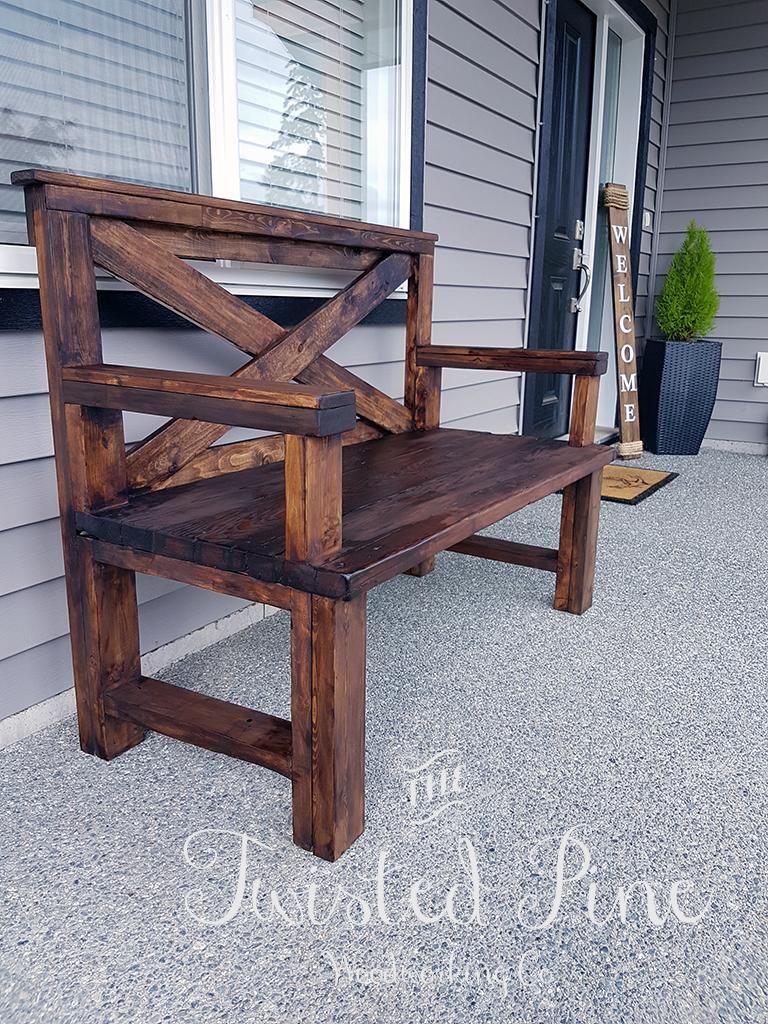 Outdoor Rustic Bench Pine Main Rustic Outdoor Benches Wood Bench Outdoor Diy Wood Bench