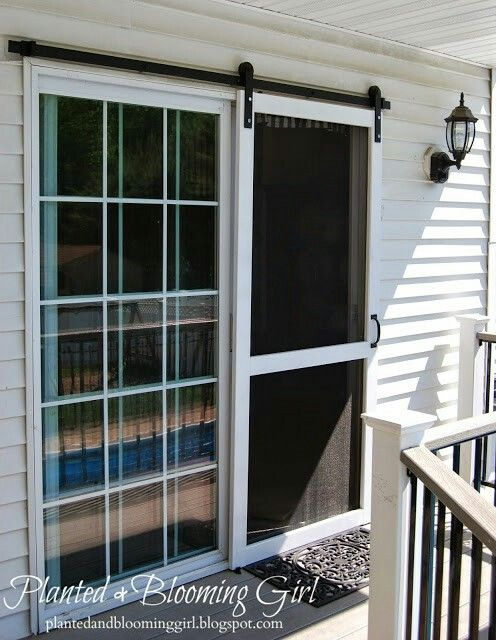 Sliding Screen Door Forever Home Doors Diy Screen Door