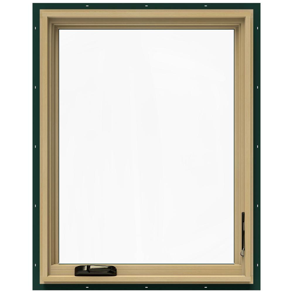 JELD-WEN 28.75 in. x 36.75 in. W-2500 Right-Hand Casement Wood Window
