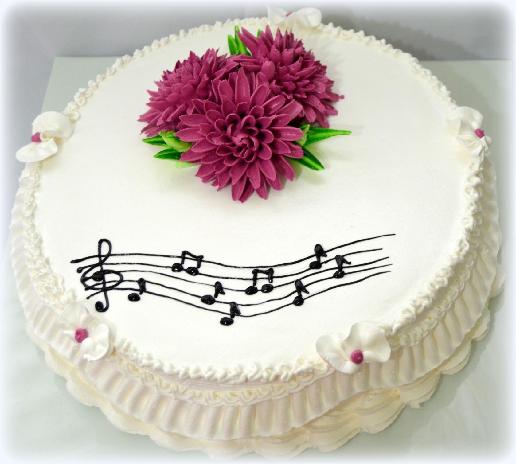 Фотография | Тематические торты, Торты на музыкальную тему ...