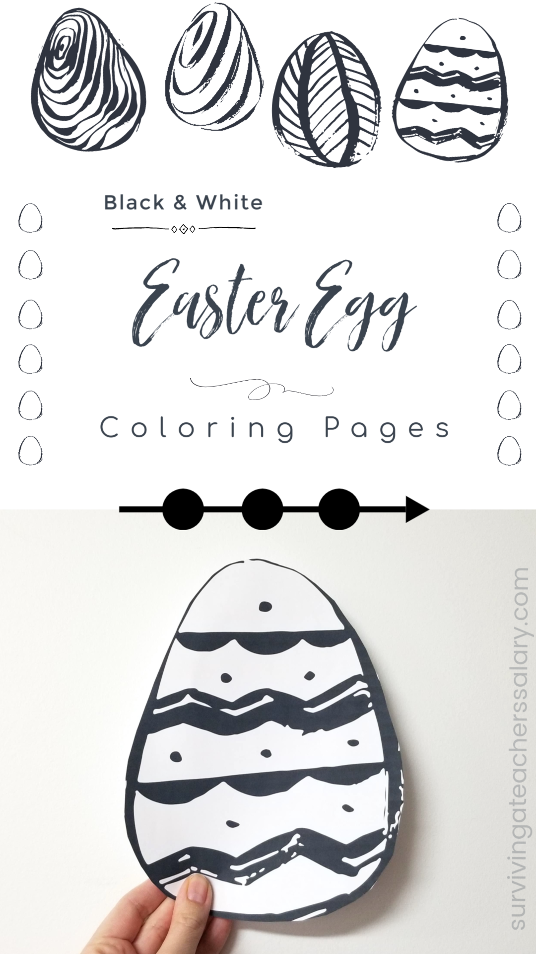 Printable Easter Egg Coloring Pages Window Designs Easter Egg Coloring Pages Coloring Easter Eggs Coloring Eggs