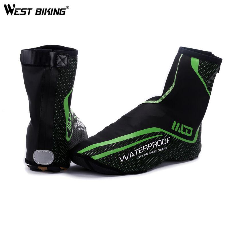 West Biking Buty Kolarskie Pokrycie Pelna Wodoodporny Zamek Zima Termiczna Kalosz Rower Mtb Rowerow Pokrywy Buta Copriscar Bike Boots Cycling Shoes Shoe Covers