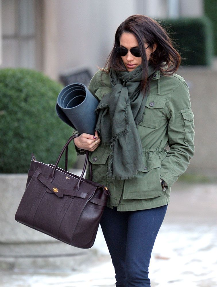 d0f3f1134f Meghan Markle Mulberry Zipped Bayswater Tote $1,675 VIA MULBERRY ...