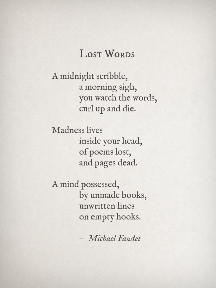 Madness Lives Inside Your Head Of Poems Lost And Pages Dead