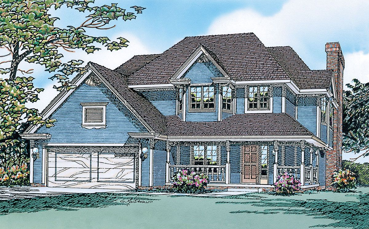 Plan 4024db House Plans Victorian House Plans Country Style House Plans