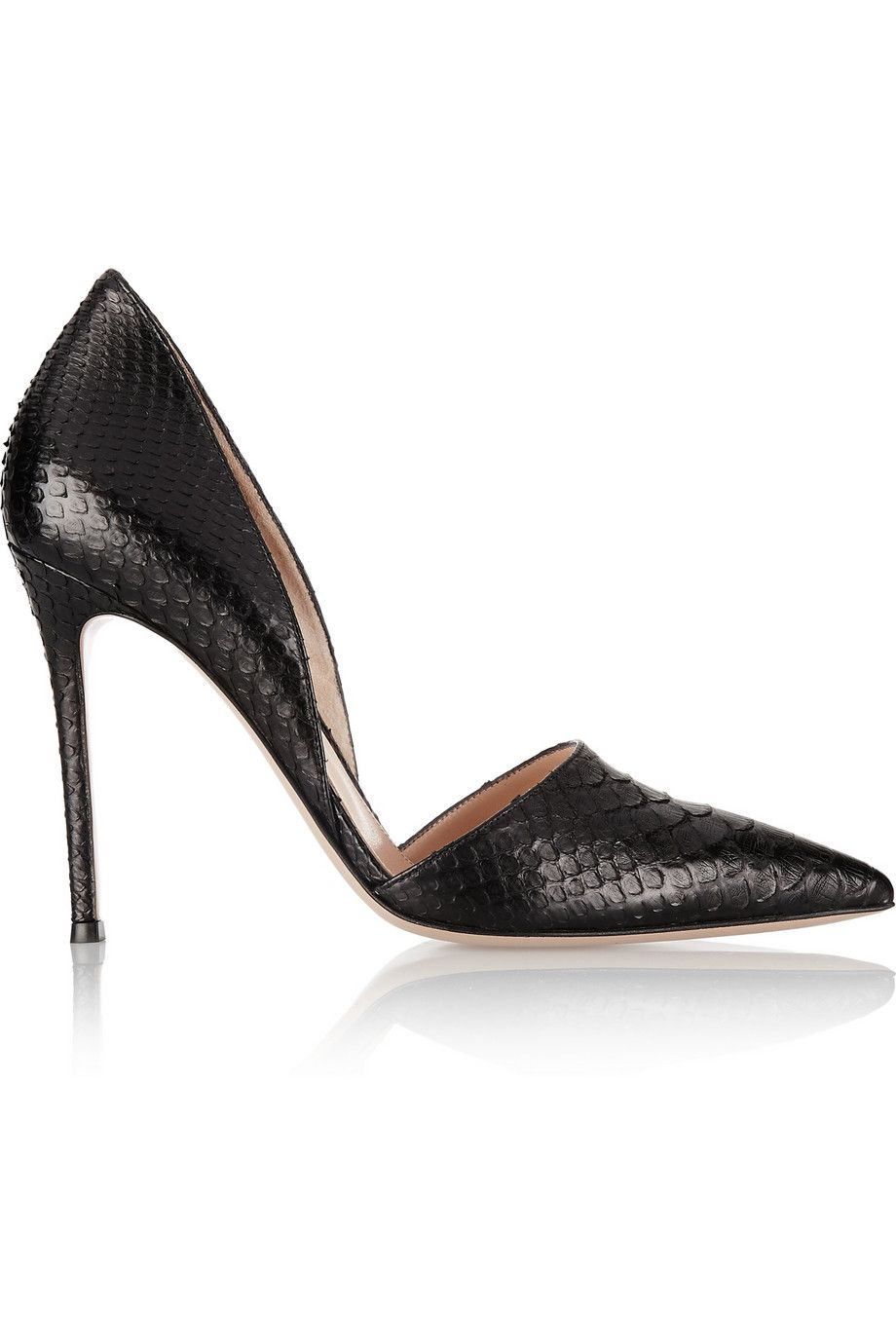 Gianvito Rossi | Python pumps #heels #shoes