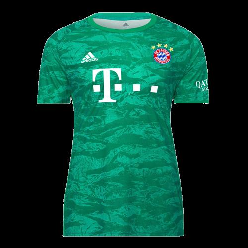 19 20 Bayern Munich Green Goalkeeper Jerseys Shirt Cheap Soccer Jerseys Shop Soccer Shirts Jersey Shirt Soccer Jersey