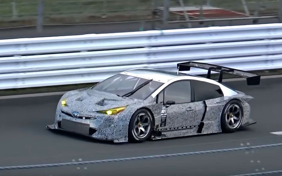 This V8 Powered Super Gt Prius Has Sweet Growl And Looks Fabulous