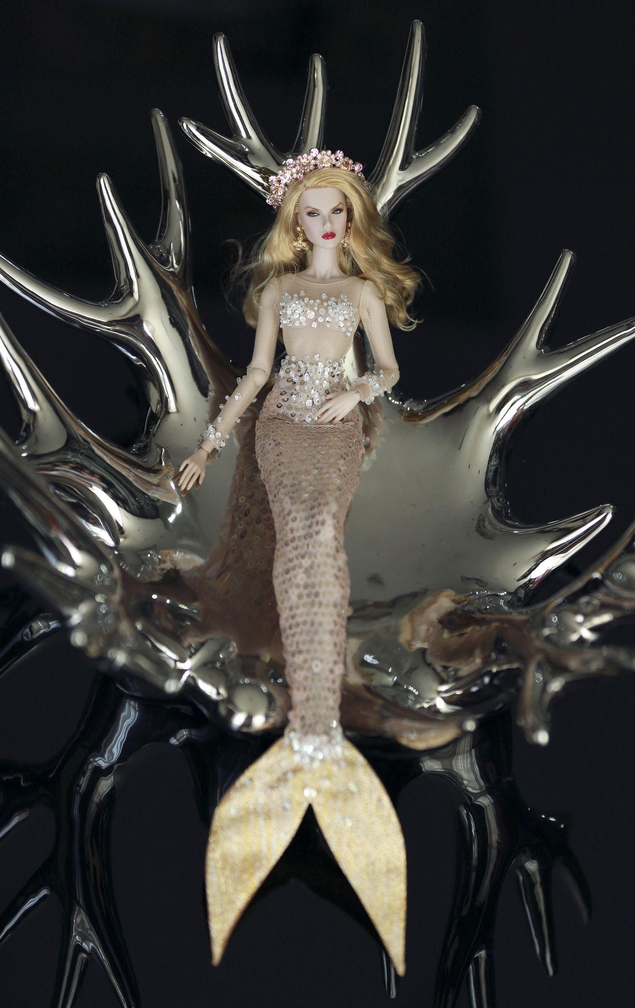 Dasha Mermaid Outfit By Rimdoll Barbie Fashion Royalty Mermaid Barbie Barbie Miss