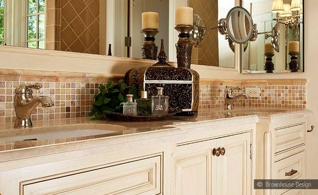 Glass Tile Backsplash Pictures Bathroom: Backsplash Subway Tile And Glass Mosaics