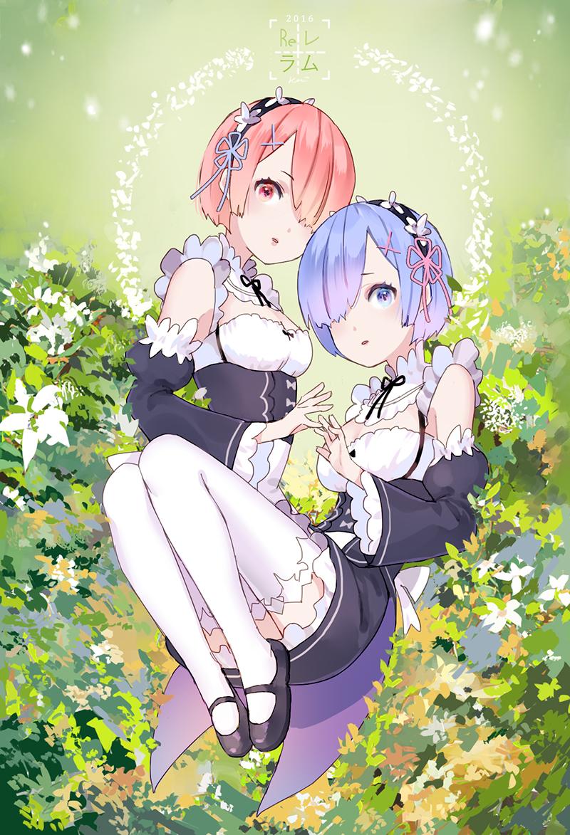 レムラム Ram&Rem rezero Pinterest Anime, Girls