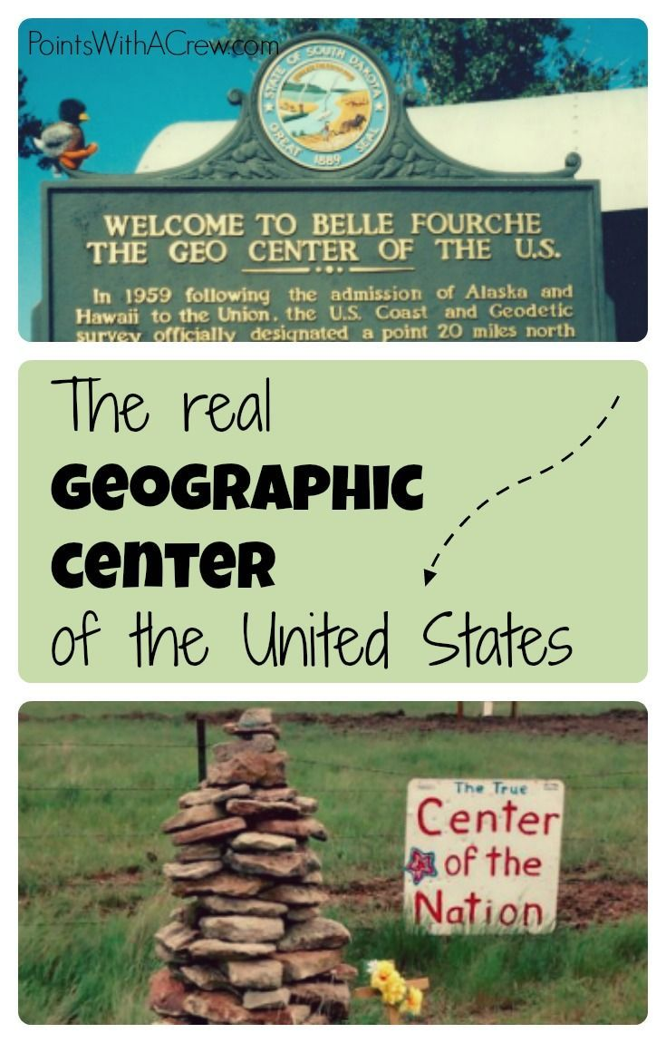 Finding the REAL geographic center of the United States ...