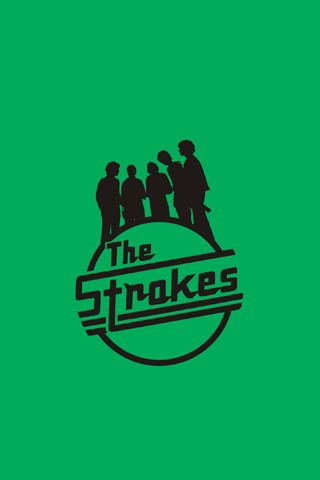 The strokes green logo android wallpaper hd music android the strokes green logo android wallpaper hd altavistaventures Images