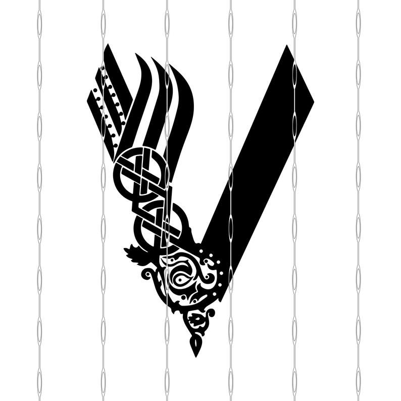 Vikings T V Show Logo Svg Jpeg Png Dxf Files Digital Etsy In 2021 Ancient Viking Symbols Vikings Vikings Tv