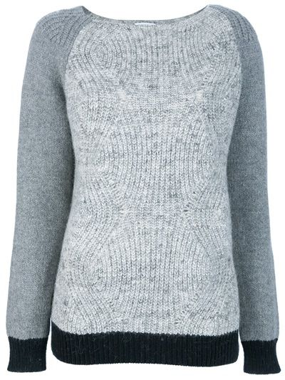 SURFACE TO AIR - Ginger chunky knit jumper 1