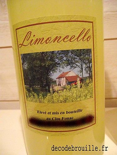 limoncello maison