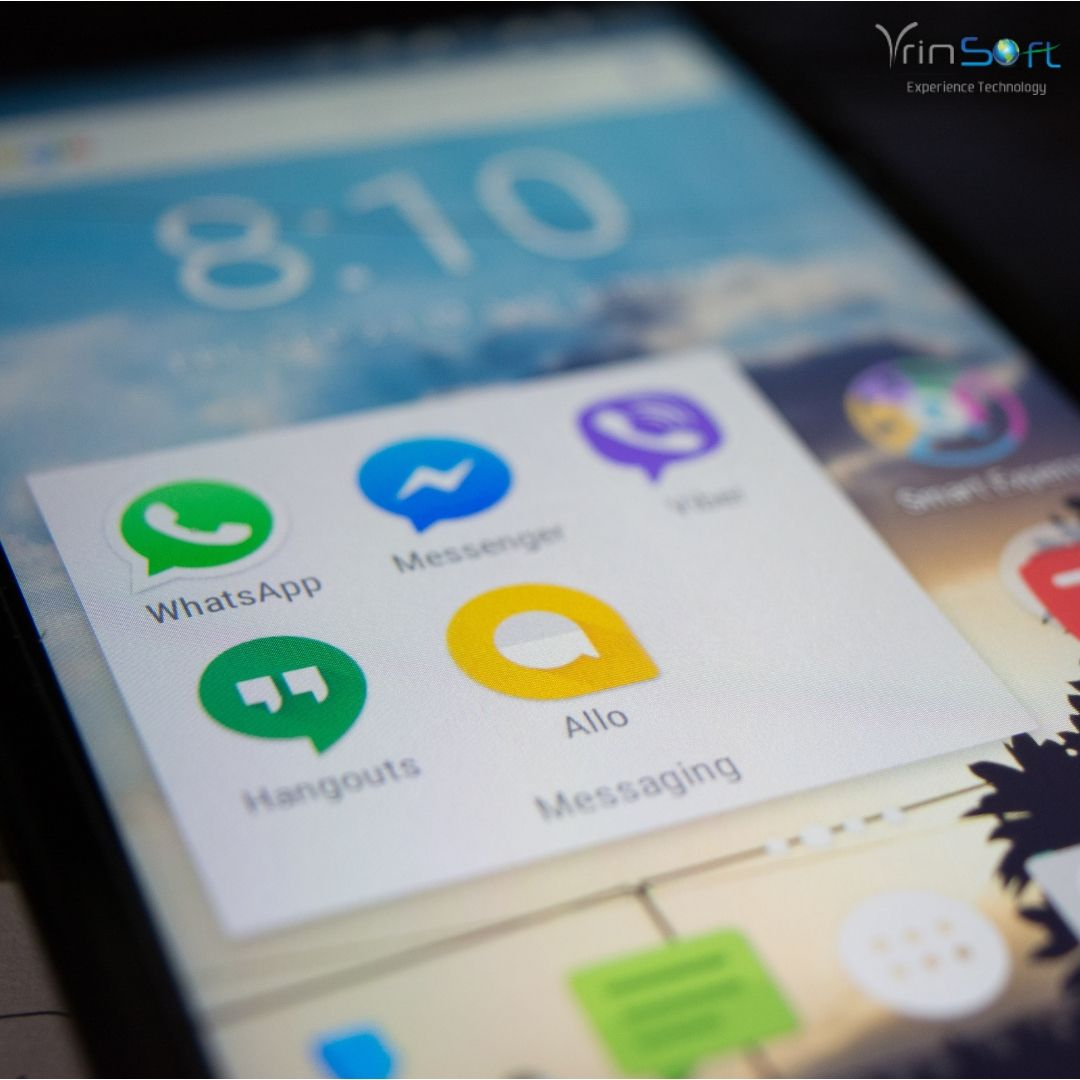 A mobile app allows a business to directly communicate