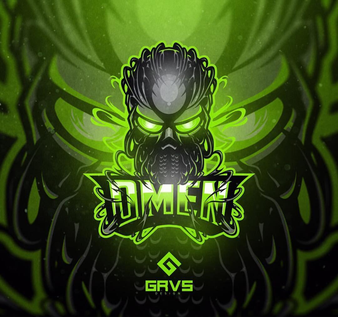 OMEN Gaming logo Game logo, Graphic design logo, Game