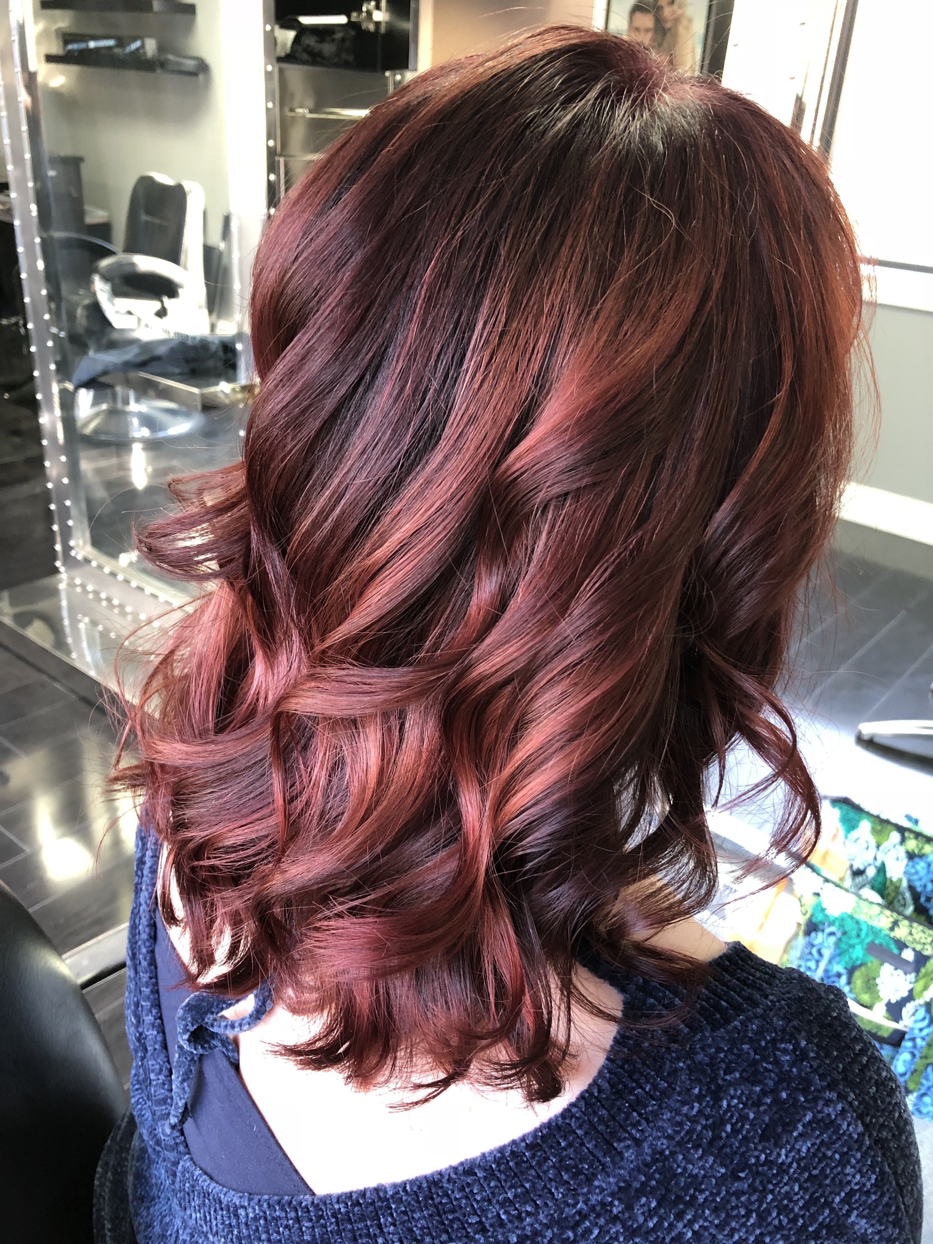 Amazing Fall Red Hair Color Fall Red Hair Hair Color Mixed Hair