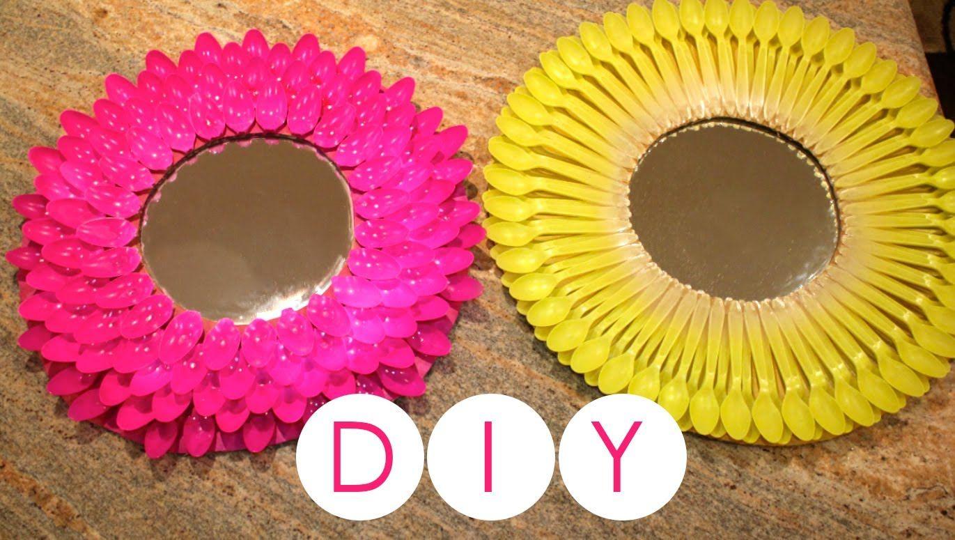 Decoracion de espejos redondos decoraci n f cil decorar for Decoracion de espejo con cucharas