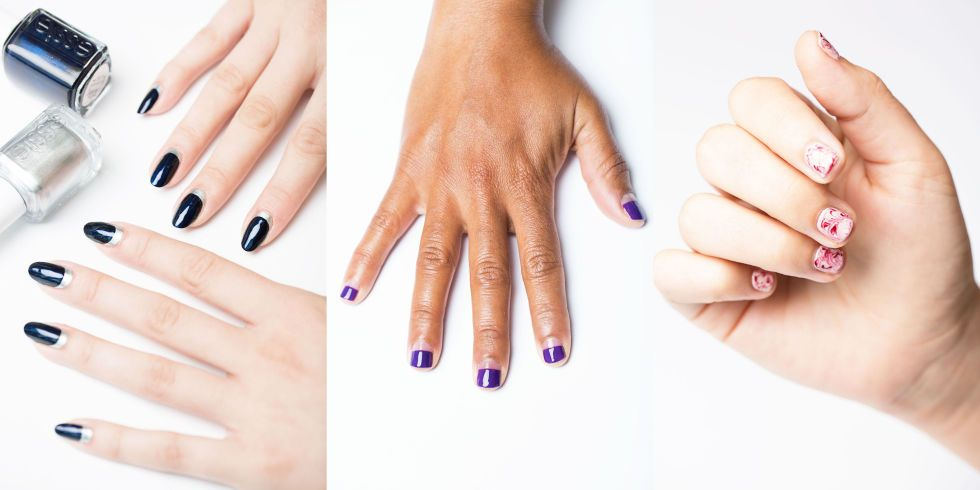 3-Step Nail Art Ideas You Can Totally Do Yourself | Nail ...