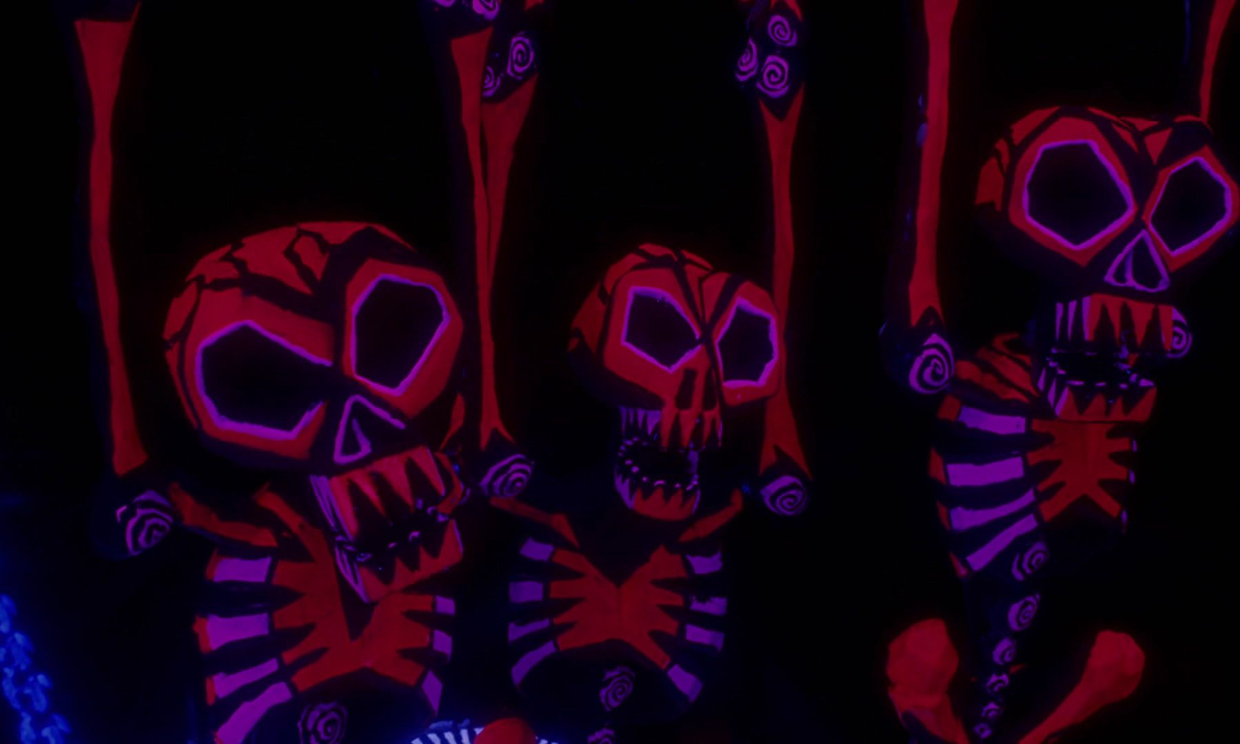 Nightmare Before Christmas (Oogie's Skeletons) | Disney Screen ...