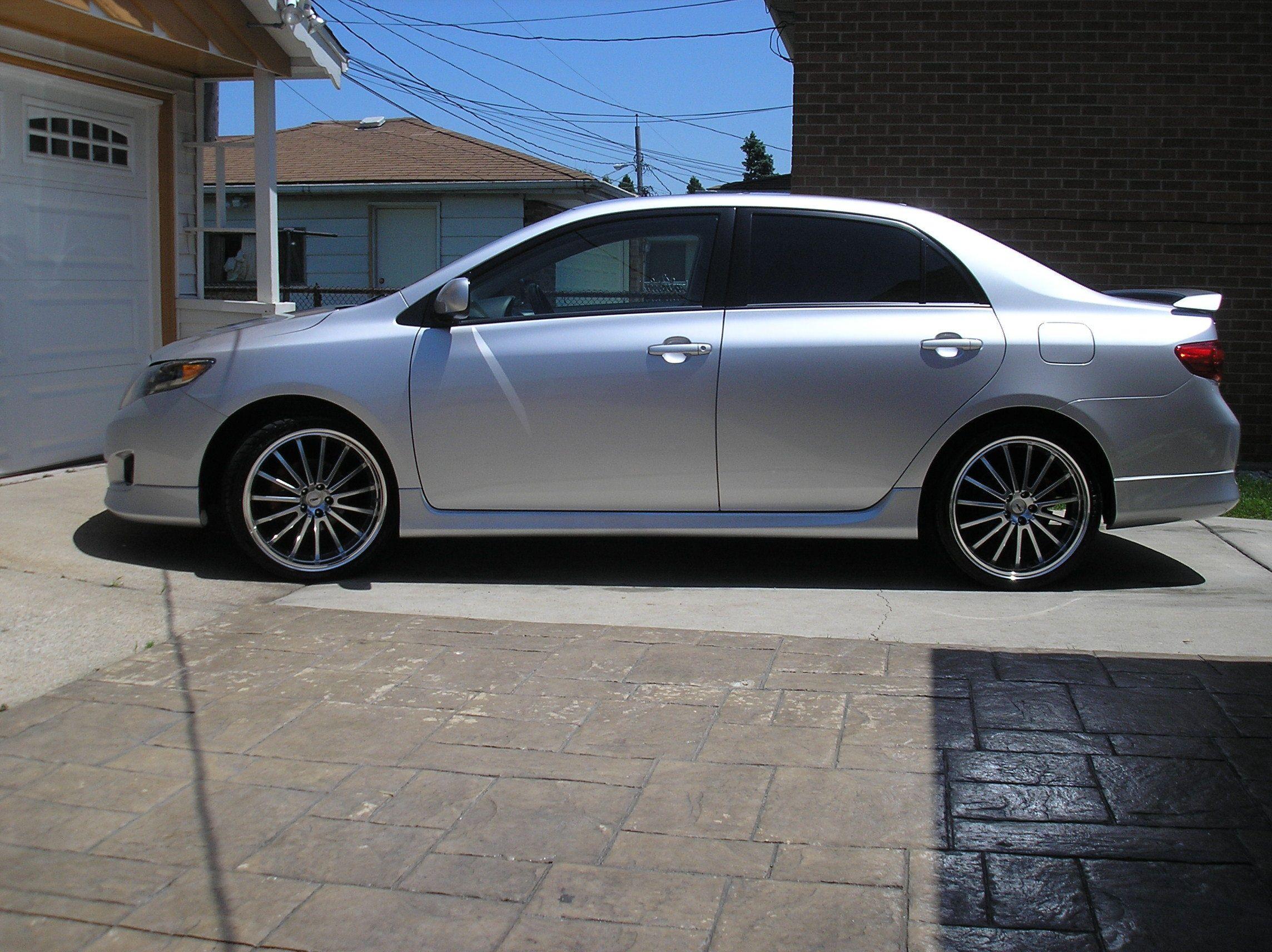 Corolla sedan 2009 Toyota Pinterest