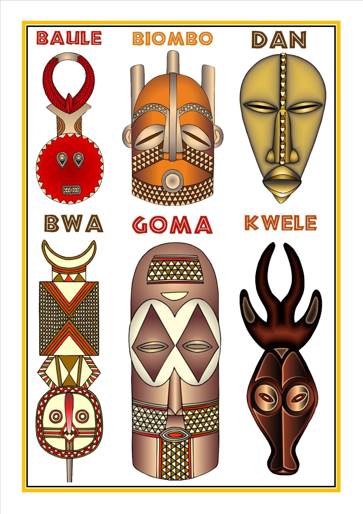African Masks Cultures African Art Projects African Masks